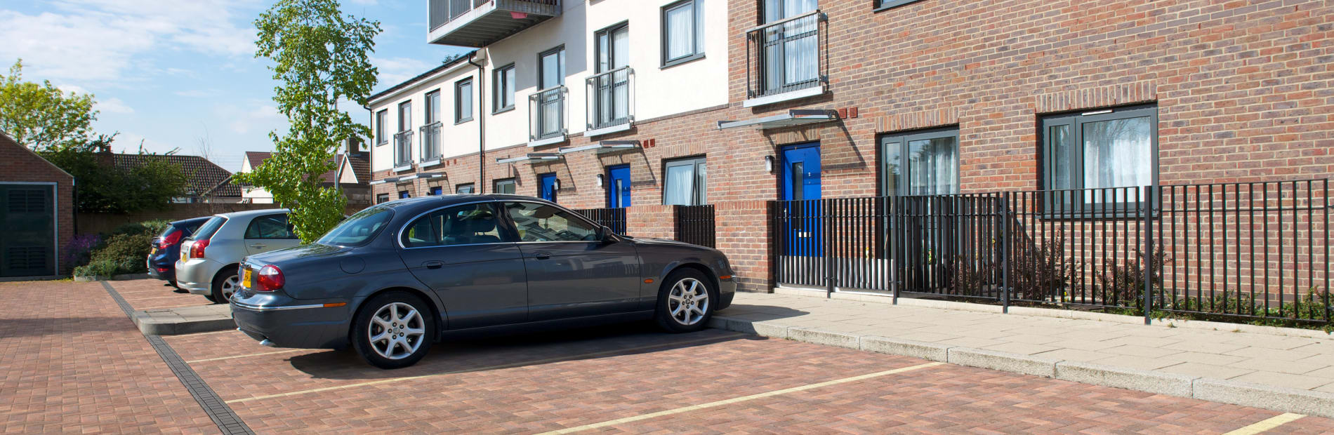 drexus driveline drain insitu car park housing estate