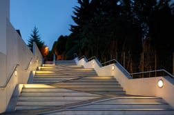 bega circular adjustable recessed wall luminaire
