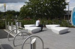 escofet extasi bench - mayflower retail park - basildon