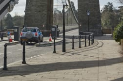 ferrocast barnstaple bollards and ferrocast harbour 2 protective post and rail