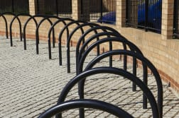 hoop cycle stand