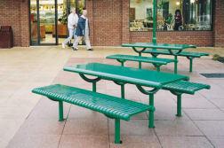 ollerton festival picnic table in steel