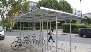 Bankside Cycle Shelter