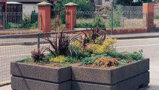 Boulevard 1400 Rectangular Planter
