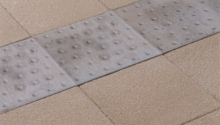 Tactile Platform Edge Paving
