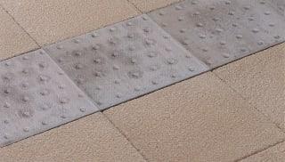 Tactile Platform Edge Paving