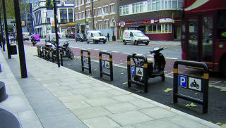 Islington Motorcycle Stand
