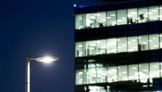 Geo Oval LED Luminaire