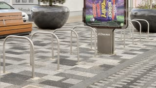Sheffield Steel and Stainless Steel Cycle Stand