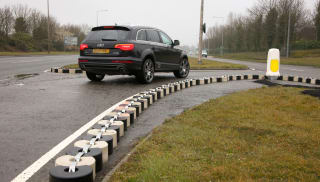 Interlocking Concrete Traffic Blocks