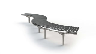 M3 Serpentine Bench