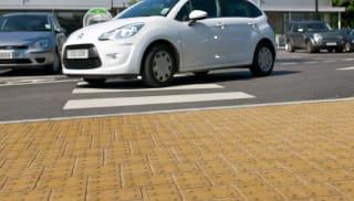 Tactile Blister Concrete Block Paving