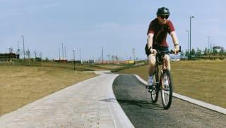 Cycleway Demarcation Block