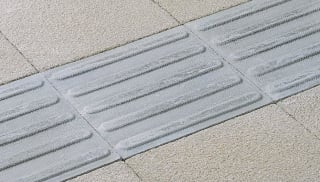 Tactile Directional Guidance Paving