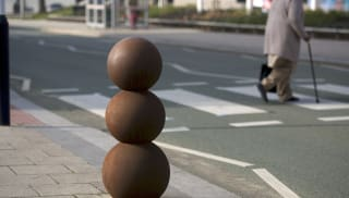 Antony Gormley Cast Iron Bollard No.4