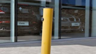 RT Key Op Fold Down Bollard
