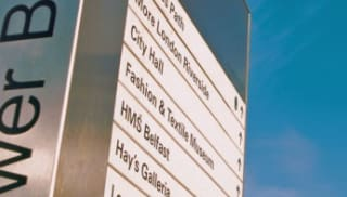 Materials for Wayfinding and Signage Systems