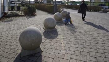 Spherical 700 Bollard