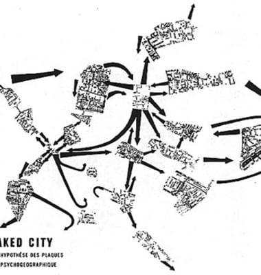 Psychogeographic map
