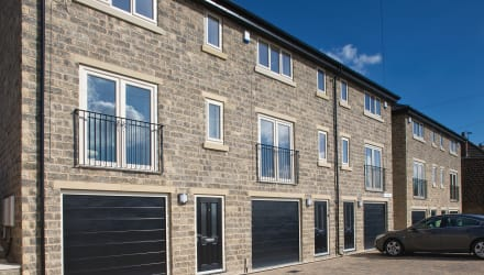 epoch walling on a housing estate