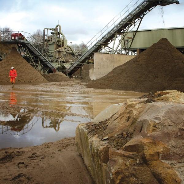 sands and aggregates quarry
