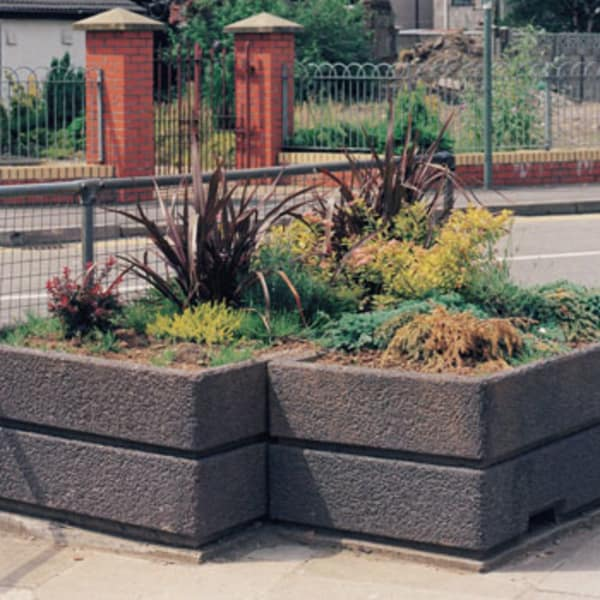 boulevard rectangular planter