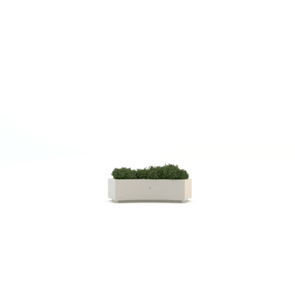 curved demetra planter