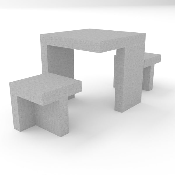 escofet prat concrete seating