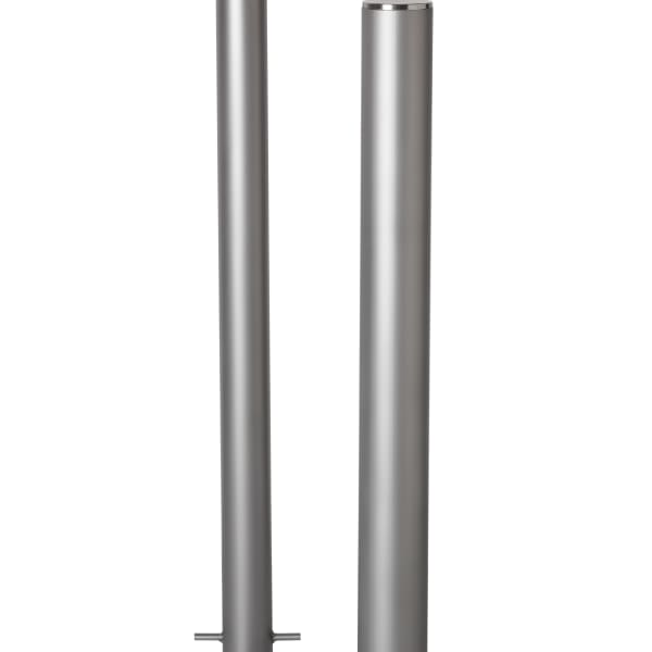 essentials 304 stainless steel bollards - bead blast finish