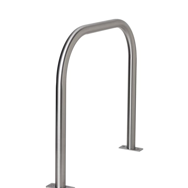 essentials 304 stainless steel cycle stand - surface mounted