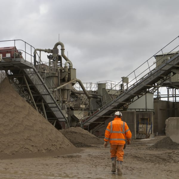 aggregates factory