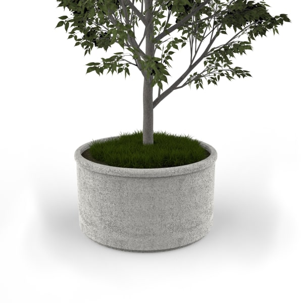 sero circular planter 1200mm