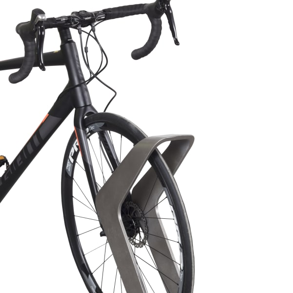 stratic cycle stand with bike - quartz