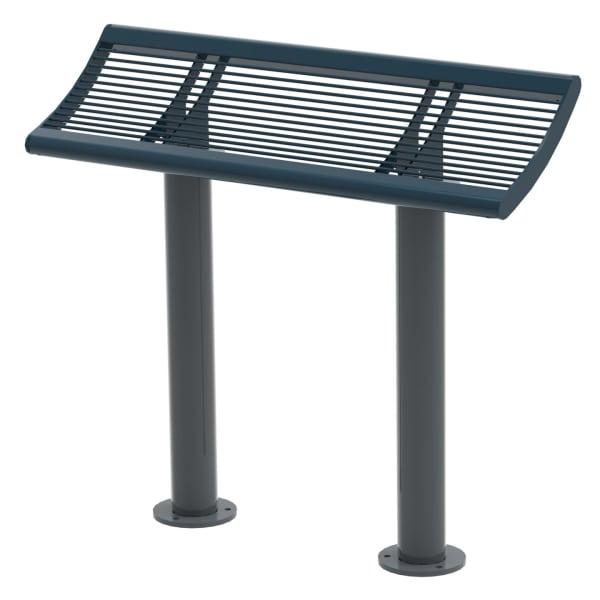 urban city perch seat - steel & pc