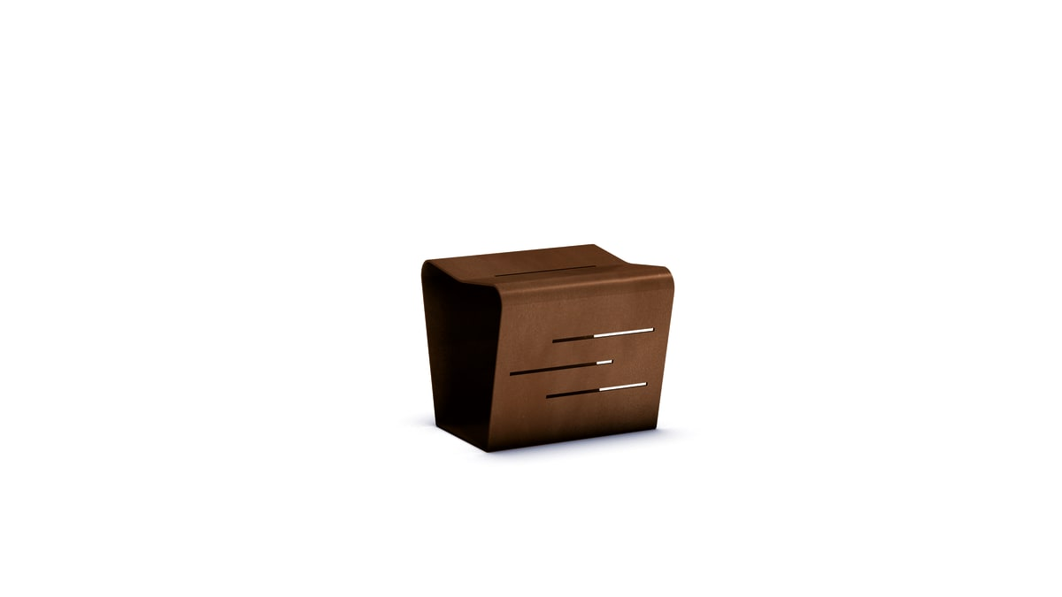 mac stool with white background