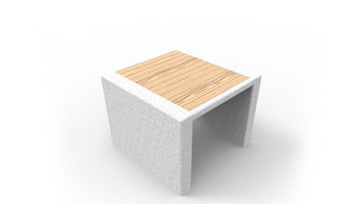 white and wooden prima marina stool