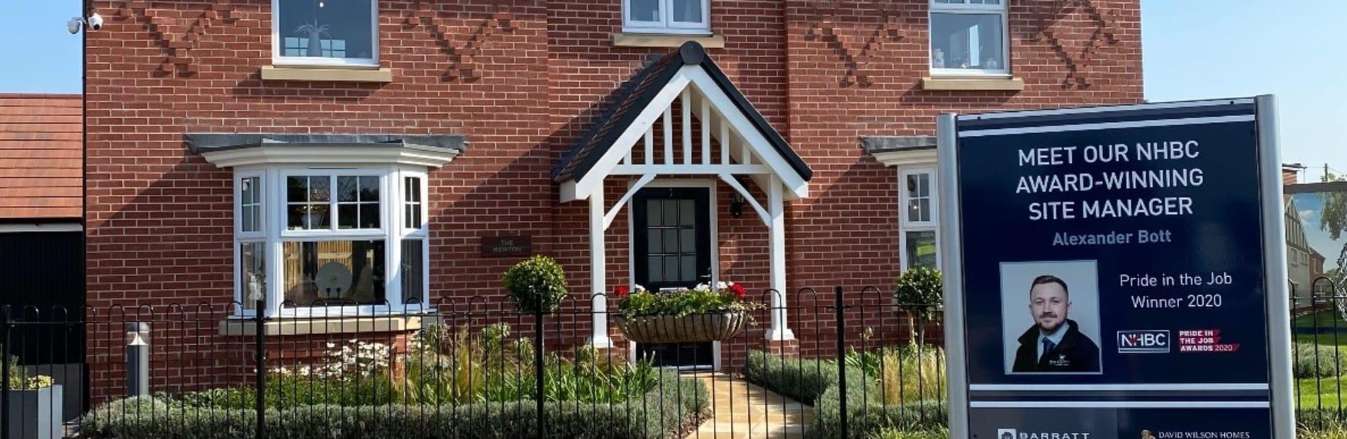 Peakdale Epsom Red Facing Brick Used On Barratt David Wilson Home Development