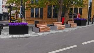RhinoGuard® RhinoBlok seating at Windsor
