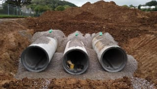 sewer systems in the uk
