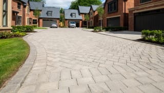 Tegula Priora Pennant Grey Access Road