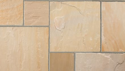 Marshalls Indian Sandstone in Buff Multi