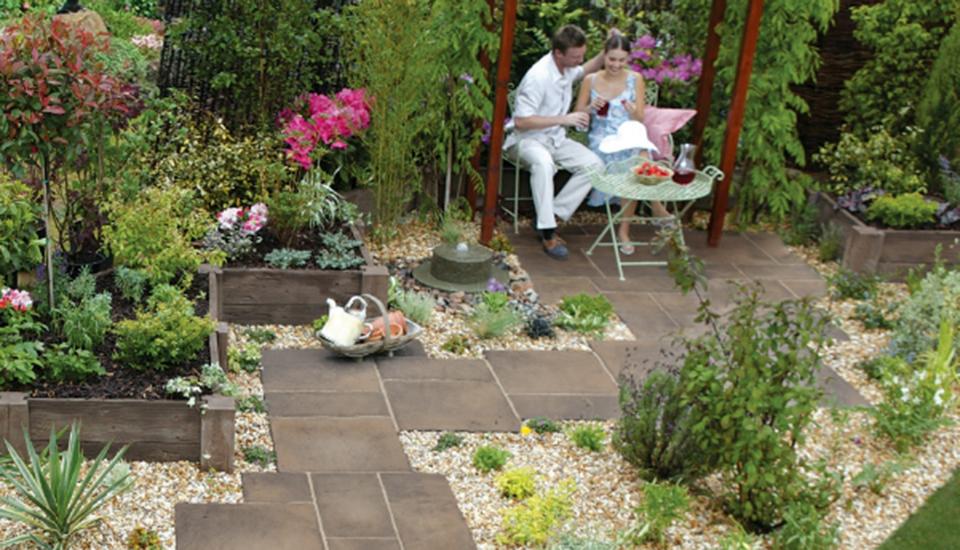 Garden patio ideas on a budget & Garden patio ideas on a budget| Marshalls