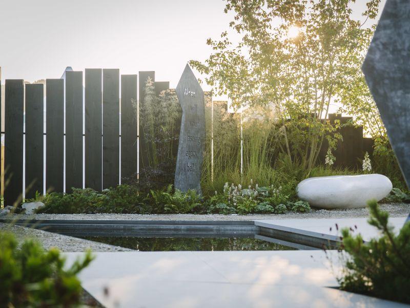 Rob Hardy Macmillan Legacy Garden 2021
