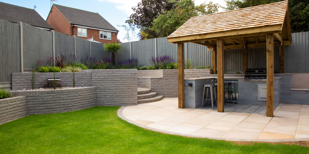 Outdoor Kitchen Ideas For New Garden Designs Blog Marshalls