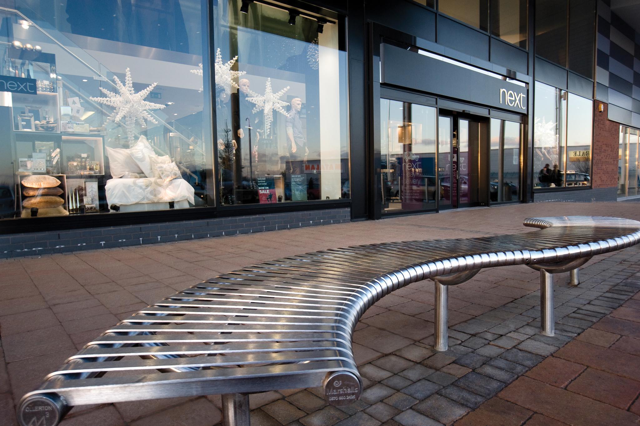 Galleries Retail Park Washington Case Study Marshalls