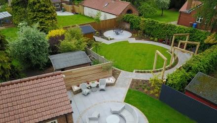 How to create zones in your garden