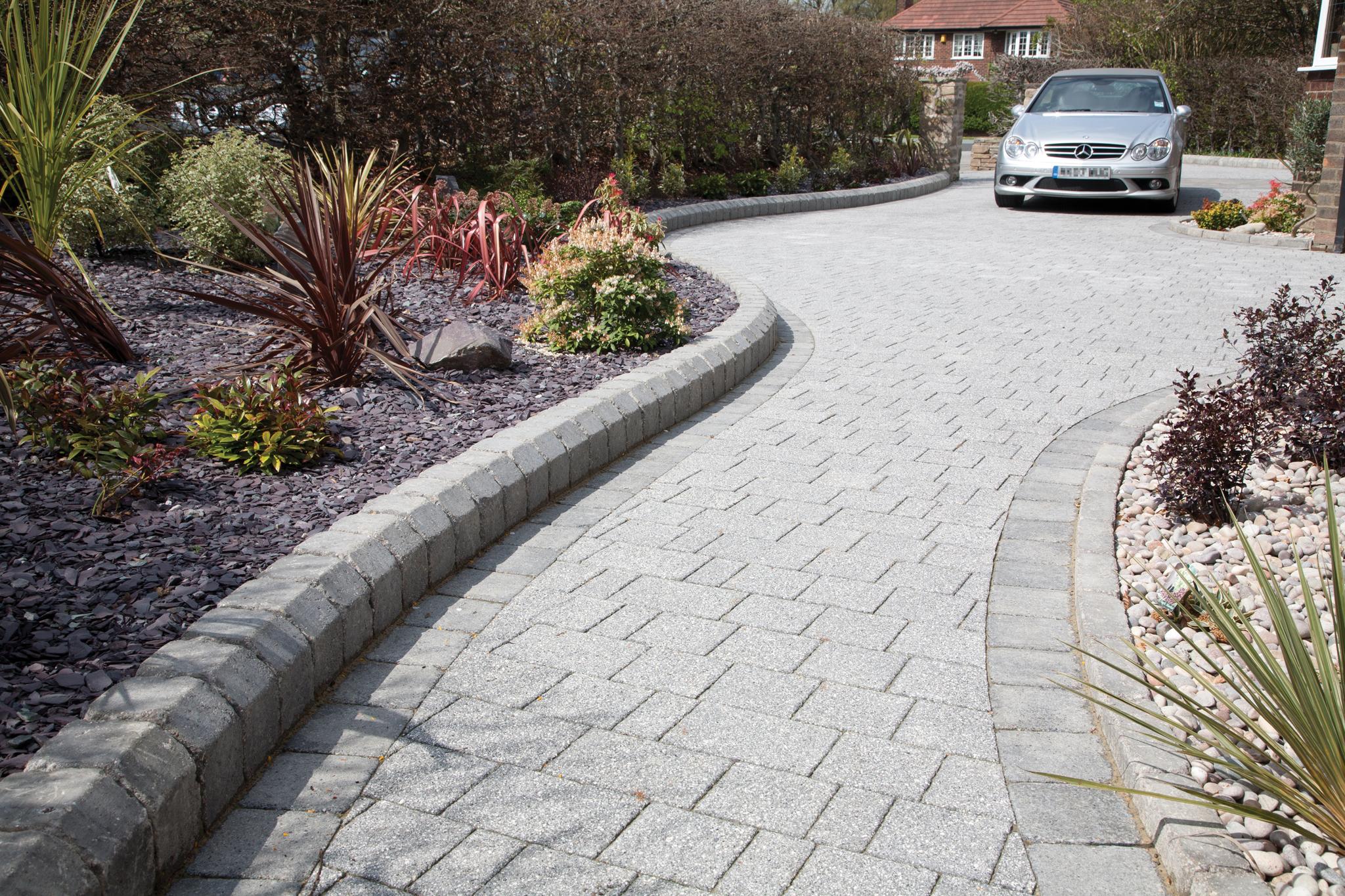 Kg Near Me >> Marshalls Tegula Small Element Concrete Kerb Sett | Marshalls