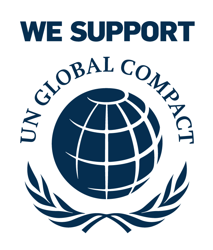 We support: UN Global Compact