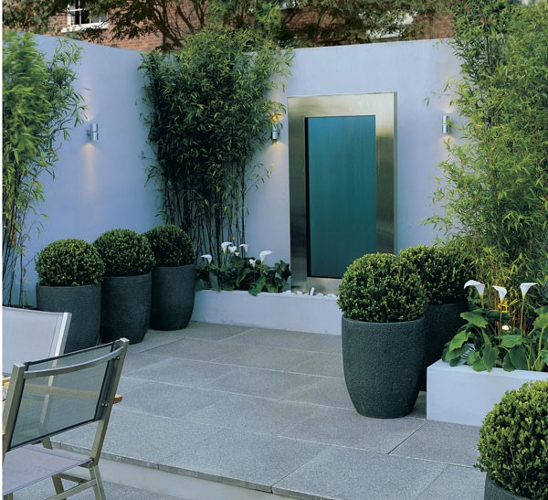 Cladding used in a garden area