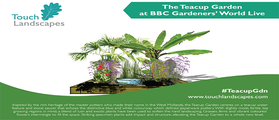 RHS Silver Medal for touch landscapes at BBC gardeners world live
